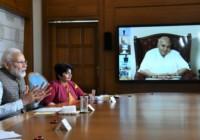 प्रधानमंत्री ने प्रिंट मीडिया के पत्रकारों से बात की
