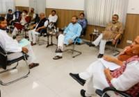 राजनाथ सिंह ने लॉकडाउन को लेकर बैठक की