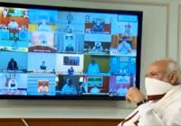 प्रधानमंत्री मोदी ने 'कोविड-19' से निपटने हेतु मुख्यमंत्रियों के साथ बात की