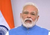 प्रधानमंत्री मोदी ने कहा कि देश में कोरोना के खिलाफ लड़ाई सामूहिक प्रयासों से तेजी से लड़ी गई