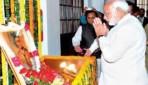 प्रधानमंत्री ने सावरकर की जयंती पर श्रद्धांजलि अर्पित की