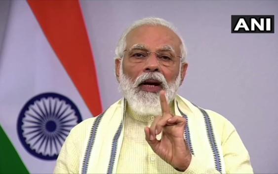 प्रधानमंत्री मोदी ने आज राष्ट्र को सम्बोधित किया