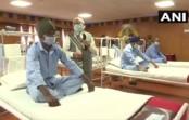 प्रधानमंत्री ने लद्दाख के निमू जाकर भारतीय जवानों से मुलाकात की