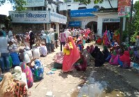 बैंक ऑफ इंडिया शाखा-दुल्लापुर मवई में बैंक कर्मचारी कर रहे खाता धारकों से बदतमीजी