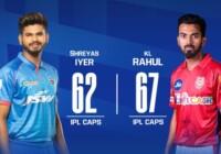 दिल्ली कैपिटल्स और किंग्स इलेवन पंजाब के बीच मैच शुरू पंजाब ने टॉस जीतकर पहले गेंदबाजी का फैसला किया