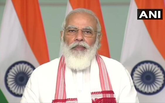 प्रधानमंत्री नरेंद्र मोदी ने आईआईटी गुवाहाटी के दीक्षांत समारोह को संबोधित किया