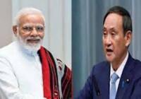 प्रधानमंत्री नरेन्द्र मोदी और जापान के प्रधानमंत्री के रूप में सुगा की नियुक्ति पर उन्हें फोन कर बधाई दी