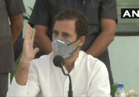 कांग्रेस नेता राहुल गाँधी ने मोदी सरकार को घेरा