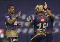आईपीएल 2020 के 21वें मैच में कोलकाता नाइट राइडर्स ने चेन्नई सुपर किंग्स को 10 रनों से हराया