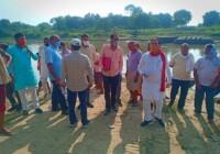 दरियाबाद के विधायक सतीश शर्मा की मेहनत लाई रंग सिल्हौर घाट पर जल्द शुरू होगा पुल का निर्माण कार्य