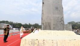 प्रधानमंत्री ने पुलिस स्मृति दिवस पर ड्यूटी के दौरान शहीद हुए पुलिसकर्मियों को श्रद्धांजलि अर्पित की