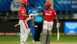आईपीएल 2020 के 38वें मैच में किंग्स इलेवन पंजाब ने दिल्ली कैपिटल्स को 5 विकेट से हराया