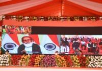 प्रधानमंत्री मोदी ने उत्तर प्रदेश विंध्याचल क्षेत्र में ग्रामीण पेयजल आपूर्ति परियोजना की आधारशिला रखी