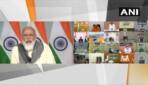 प्रधानमंत्री ने कोरोना से निपटने के लिए मुख्यमंत्रियों के साथ एक उच्चस्तरीय बैठक की