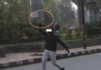 जामिया-राजघाट मार्च: युवक ने हवा में लहराई पिस्तौल किया फायर, एक घायल