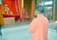 योगी आदित्यनाथ ने अयोध्या में रामलला के दर्शन किए