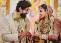 राणा दग्गुबाती और मिहिका बजाज के शादी की तस्वीरें आई सामने देखिये