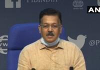 भारत के सक्रिय मामले कुल मामलों के 5 प्रतिशत से कम हैं