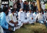 राजस्थान के करौली में एक पुजारी को जिन्दा जलाया पीड़ित परिवार अंतिम संस्कार से पहले कर रहा 50 लाख के मुआवज़े की मांग