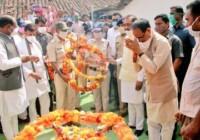 शिवराज सिंह चौहान ने शहीद धीरेंद्र त्रिपाठी के परिवार को 1 करोड़ रूपये की सहायता देने की घोषणा की