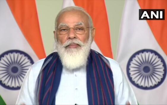 उत्तर प्रदेश में ग्रामीण पेयजल आपूर्ति परियोजनाओं के शिलान्यास के दौरान प्रधानमंत्री मोदी का पूरा सम्बोधन
